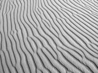 Sand Patterns in the Desert
