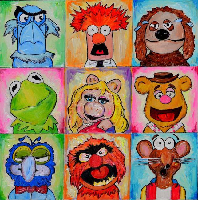 "Rizzo The Rat On Tumblr: Stunning ""Muppets"" Artwork For Sale On Fine Art Prints"