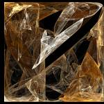 """Square of golden smoke"" by cofiante"