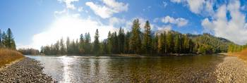 Payette River Runs Wide