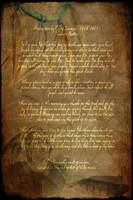 Canvas Tecumseh Poem - Act of Valor Movie