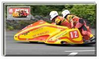 SIDECAR'S AT THE TT
