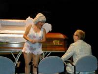 Bernice Rebuking Claude at Her Funeral