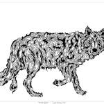 """""Wolf Spirit"" - surreal totem animal"" by LeahMcNeir"