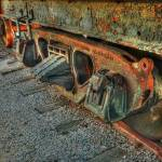 """Train Wheels Grapevine TX"" by jkphotos"