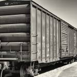 """Rolling Stock B&W"" by jkphotos"