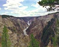 Little Canyon Yellowstone