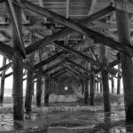 """Springmaid Pier in Myrtle Beach South Carolina"" by StephsShoes"