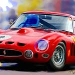 """Ferrari"" by ArtbySachse"