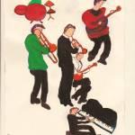 """JAZZ MUSICIANS"" by ARTCREATIONSBYOLGA"