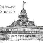 """Coronado California by RD Riccoboni"" by BeaconArtWorksCorporation"