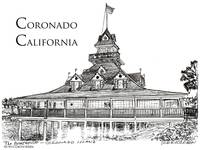 Coronado California by RD Riccoboni