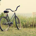 """Bicycle on Beach Photo - ""Summers on the Coast"""" by StephsShoes"