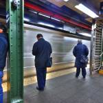 """New York City subway platform in HDR."" by eddiemo106"