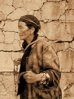 Old Woman with Beads