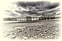 Penarth Pier toned