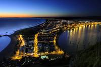 Mount Maunganui, New Zealand at dawn