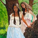"""""""Girls in the forest"""" by KVNDEN"""