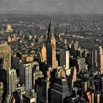 """Sky View of New York City"" by ideaproductions"
