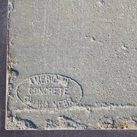 Concrete stamp
