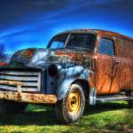 """1950 gmc van"" by mtn-images"