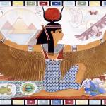 """Isis - Proud & Radiant Egyptian Goddess"" by heidihanson"