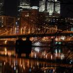 """Pittsburgh Bridge by Night"" by vonAshPhotography"