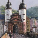 """Die alta brücke"" by grafbob"