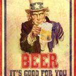 """""""Vintage Poster: Beer it"""