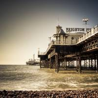 Brighton Pier Art Prints & Posters by Oliver Pohlmann