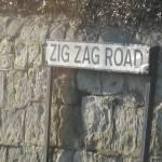 """Zig Zag Road, The Isle of Wight"" by fletcheraimee"