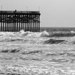 """Pier Amidst the Waves"" by ideaproductions"