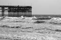 Pier Amidst the Waves