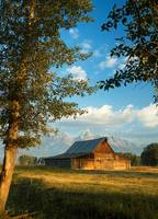 Historic Barn, Grand Teton Nation Park