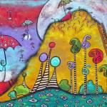 """At The Top Of Magic Mountain"" by juliryan"
