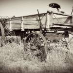 """Old Farm Equipment #2: Texas Hill Country"" by PaulHuchton"