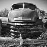 """Time and Metal: Old Truck 2"" by PaulHuchton"