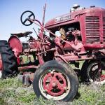 """Red Tractor"" by PaulHuchton"