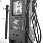 """Old Gas Pump 2: Black and White"" by PaulHuchton"