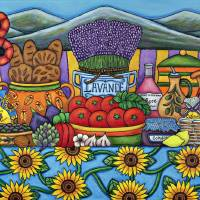 Flavours of Provence Art Prints & Posters by Lisa Lorenz