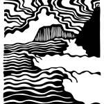 """""""Lumpy Lines"""" by beardart"""