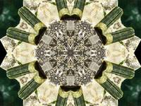 Green Tourmaline Mandala