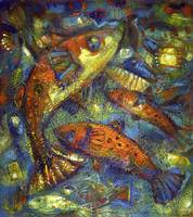 Fishes in a pond