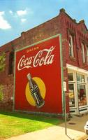 Route 66 - Coca Cola Ghost Mural