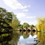 """Bakewell Bridge, Over the River Wye (20659-RDA)"" by rodjohnson"