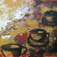 Coffee Break Art Prints & Posters by Ginger Danz