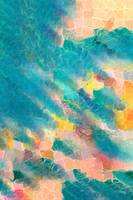 Coral Sea. Modern Designer Art Decor