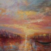 Venetian light Art Prints & Posters by Wendy Puerto
