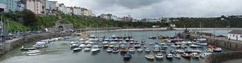 Tenby Harbour Panoramic