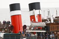 The Wavwerley Paddle Steamer Funnels
